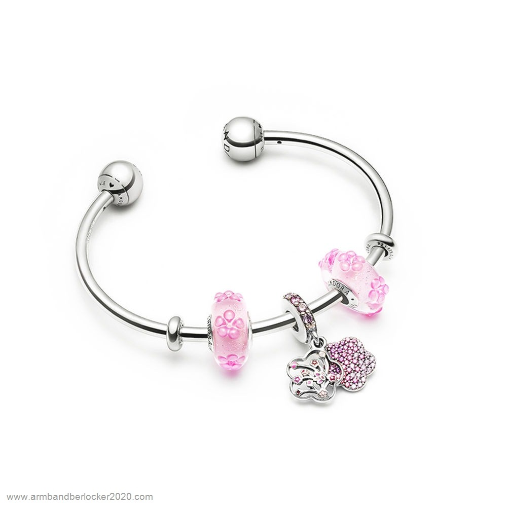 Pandora Billigt Nätet Flowering Sometimes Armband